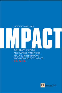 Jon's book: How to make an impact
