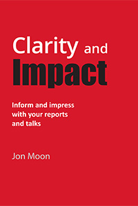 Jon's book: Clarity And Impact